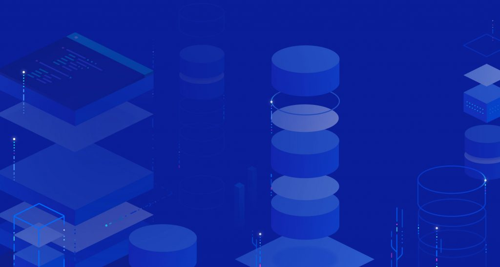 DigitalOcean DB SaaS background.